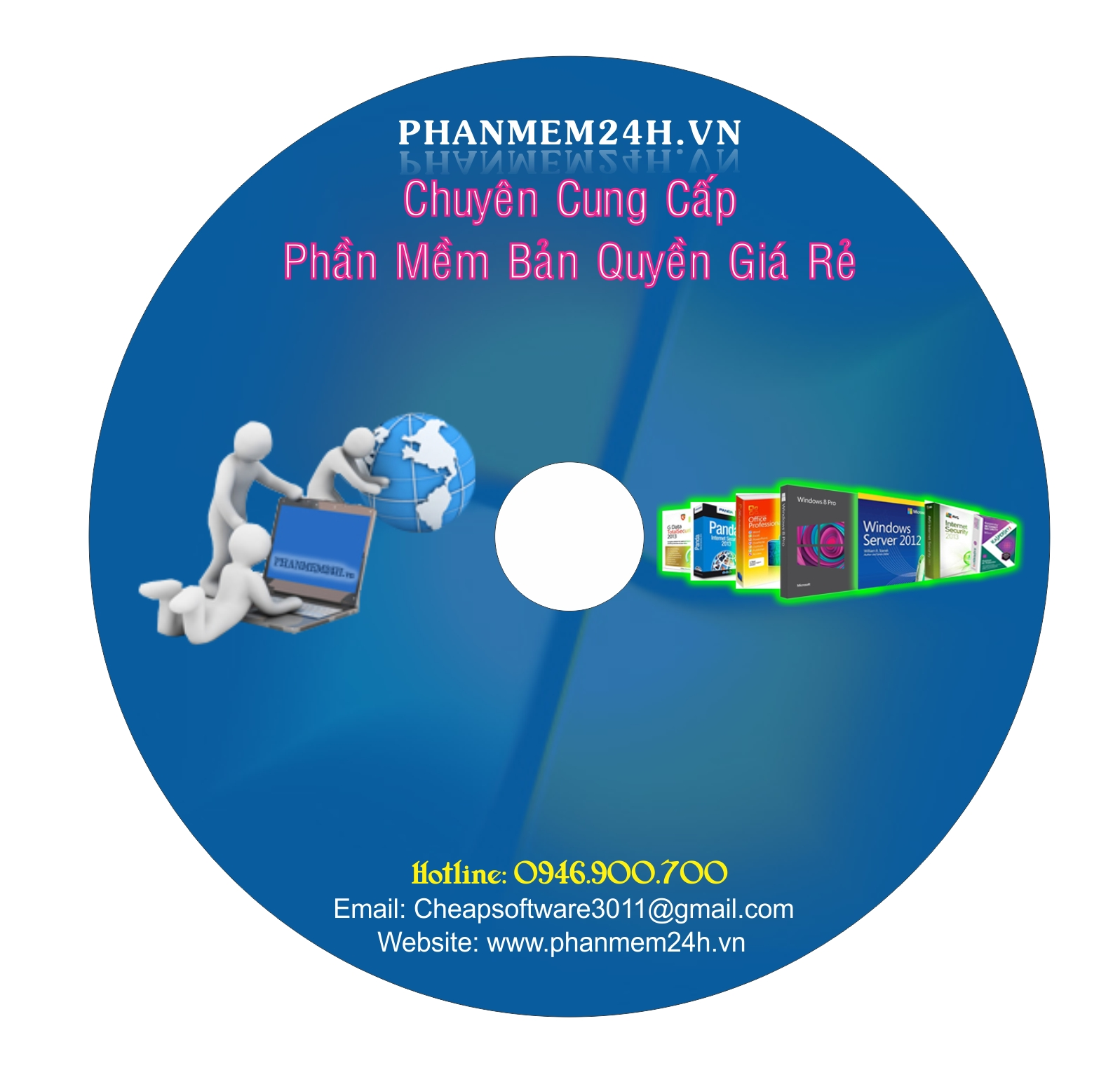 DVD Phần Mềm