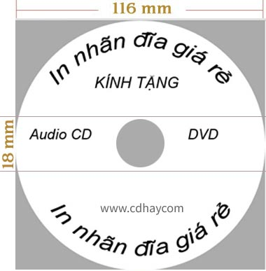 in nhan dia cd